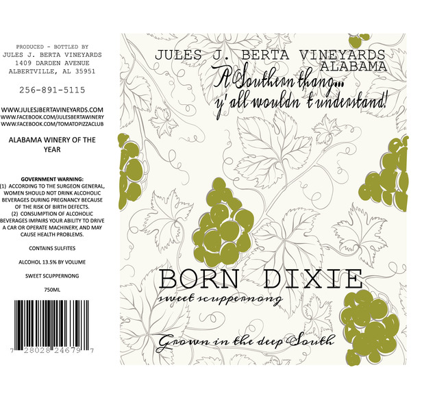 Product Image for Born Dixie Scuppernong