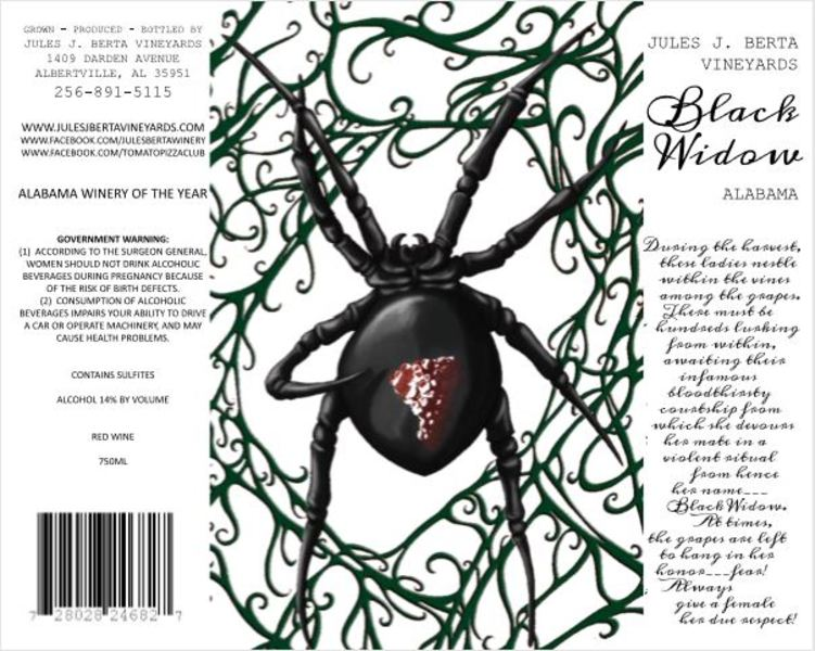 Product Image for 2017 Black Widow Cabernet Franc