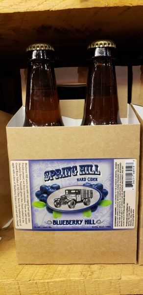Product Image - 2018 Spring Hill's Blueberry Hill Hard Cider