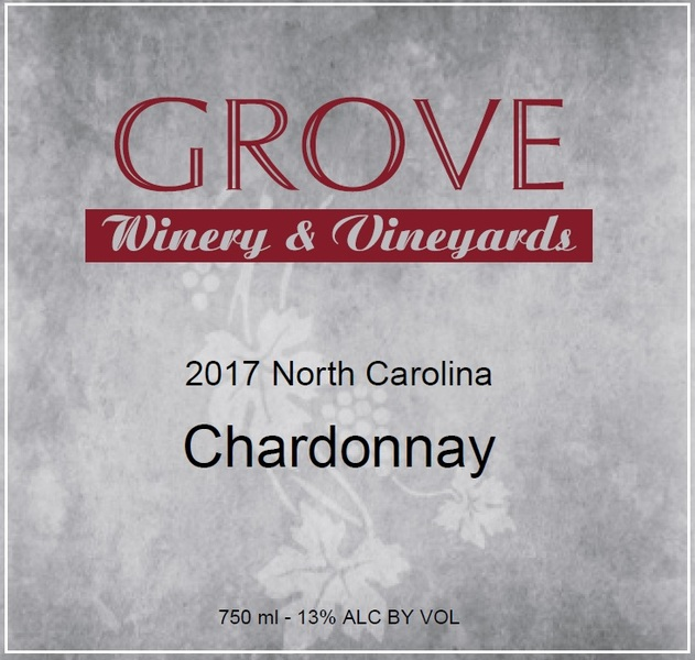 2015 Grove Unoaked Estate Chardonnay