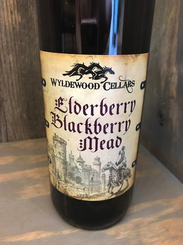 2020 Elderberry/Blackberry Mead