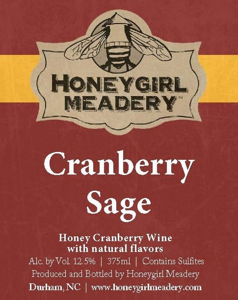 Product Image for 2019 Cranberry Sage Mead