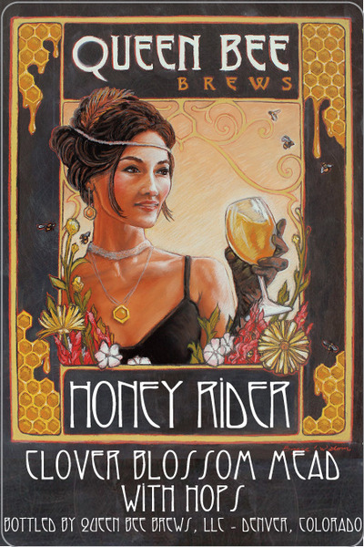 2016 HONEY RIDER - Clover Blossom Mead With Hops