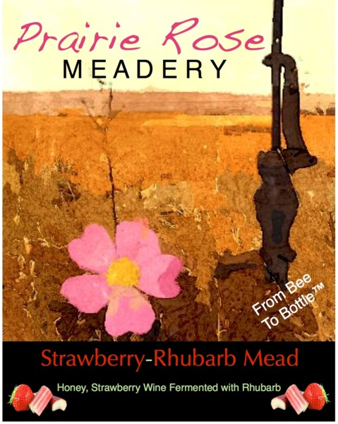 2016 Strawberry Rhubarb Mead
