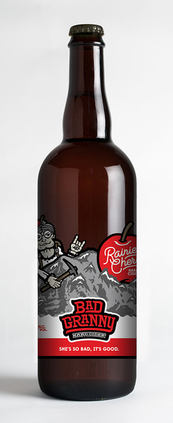 Product Image for Bad Granny Rainier Cherry 750ml
