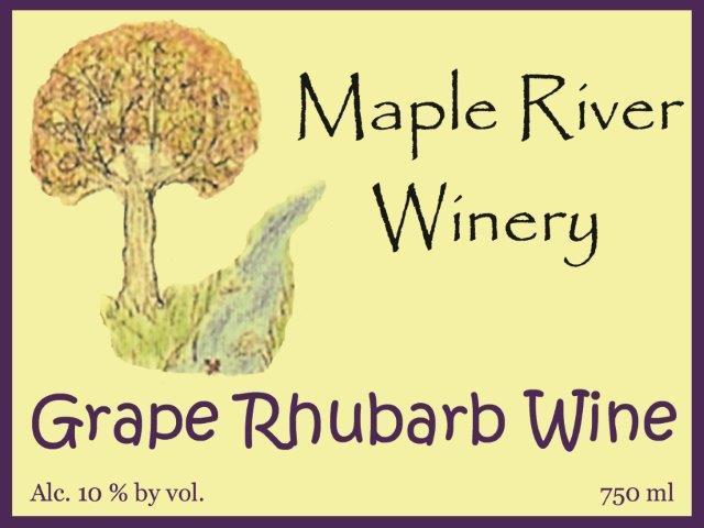 Product Image for Grape Rhubarb Wine