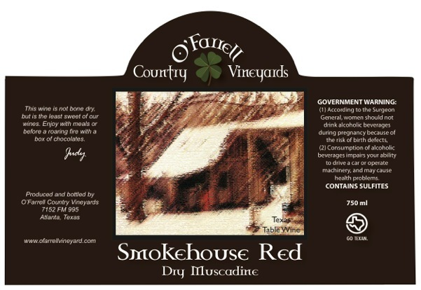 Product Image for Smokehouse Red Dry Muscadine
