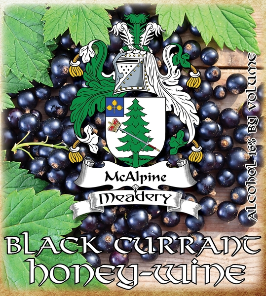 Product Image for 2019 Black Currant Honey-Wine
