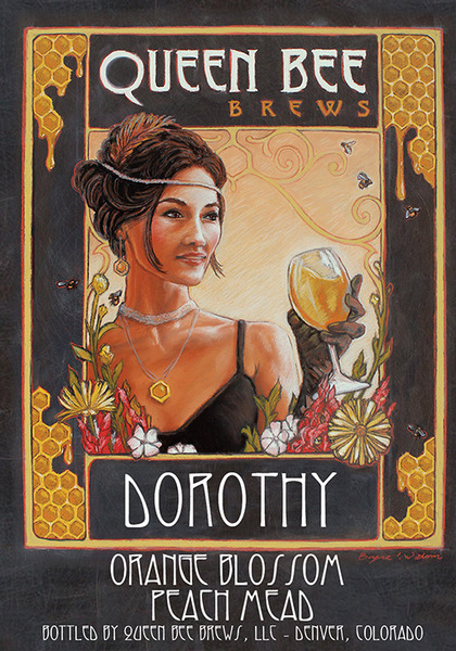 Product Image for 2016 DOROTHY - Peach Melomel with Orange Blossom Honey