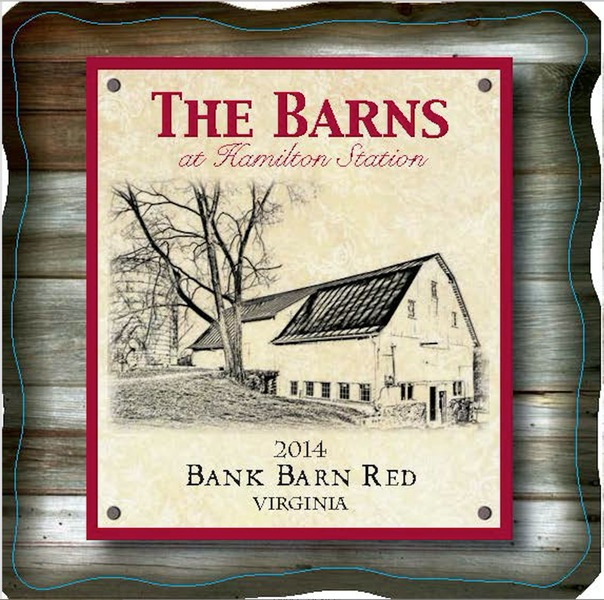 2018 Bank Barn Red