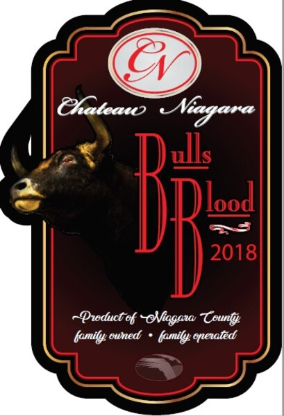 2018 Chateau Niagara Bulls Blood