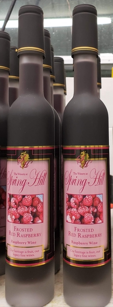 Product Image for 2018 Frosted Red Raspberry Dessert Wine