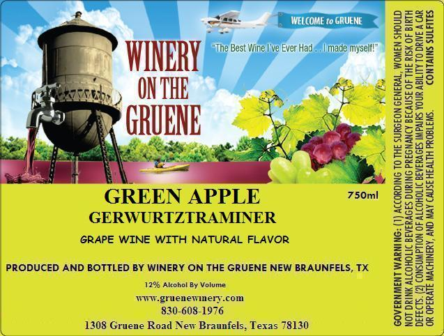 2020 Green Apple Gewurztraminer