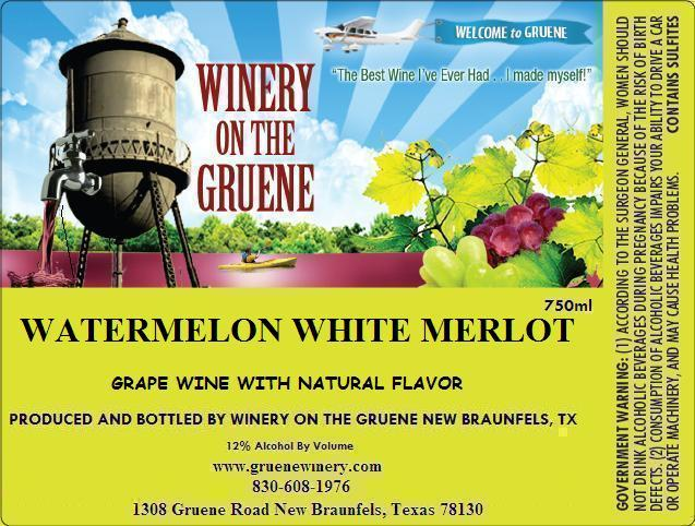 2020 Watermelon White Merlot