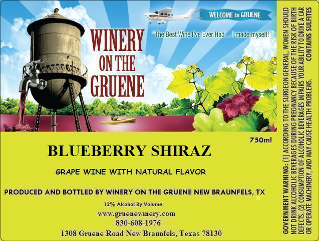 2020 Blueberry Shiraz