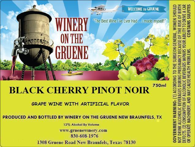 2020 Black Cherry Pinot Noir