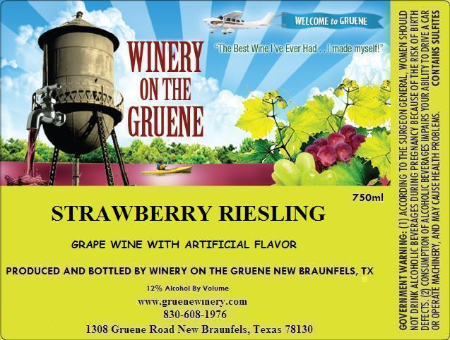 2020 Strawberry Riesling
