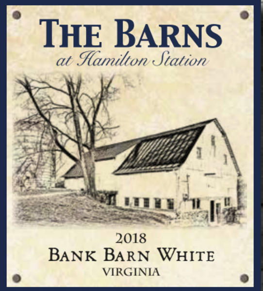 2018 Bank Barn White
