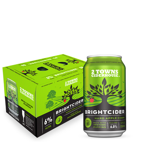 Product Image for BrightCider 6 Pack