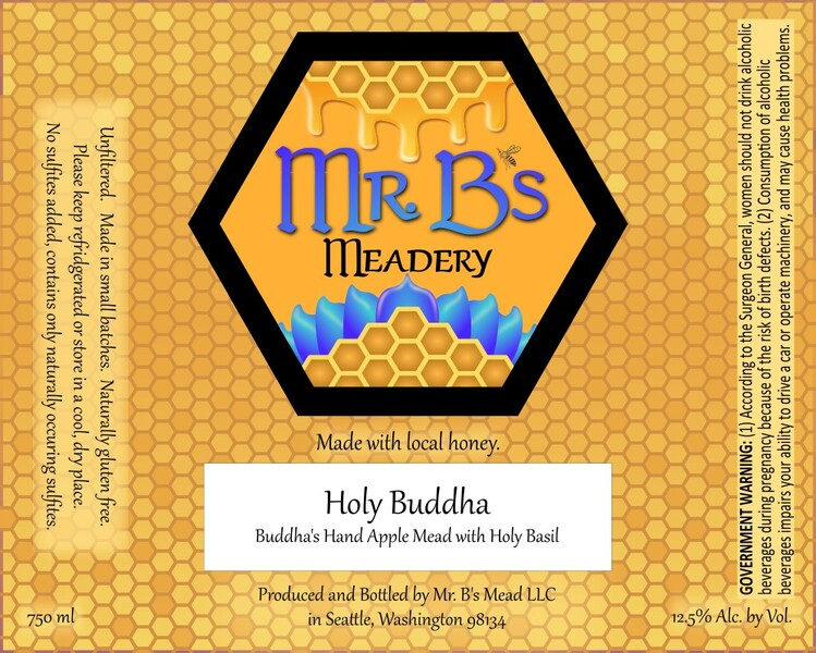 2020 Holy Buddha - Semi-Sweet Mead