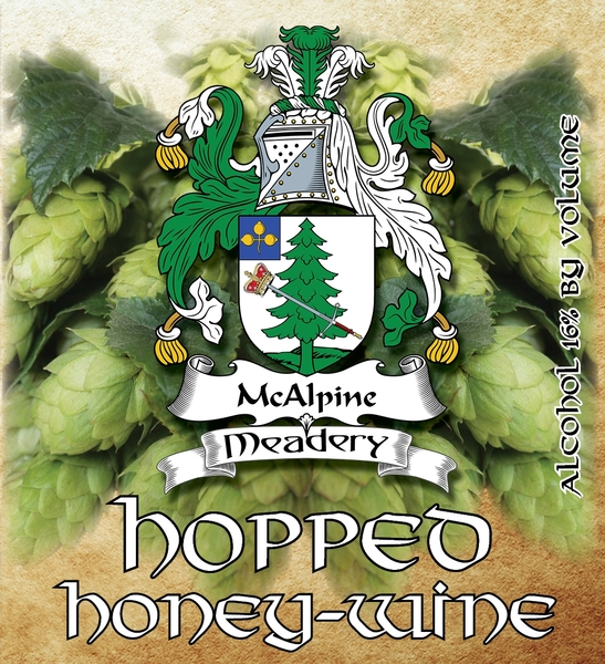 Product Image for 2018 Hopped Honey-Wine