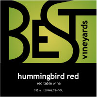 Product Image for Hummingbird Red