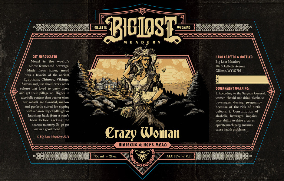 2019 Crazy Woman Mead