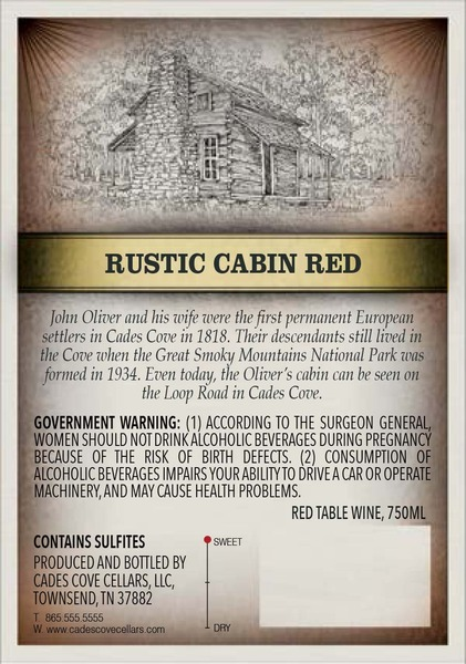 2015 Rustic Cabin Red
