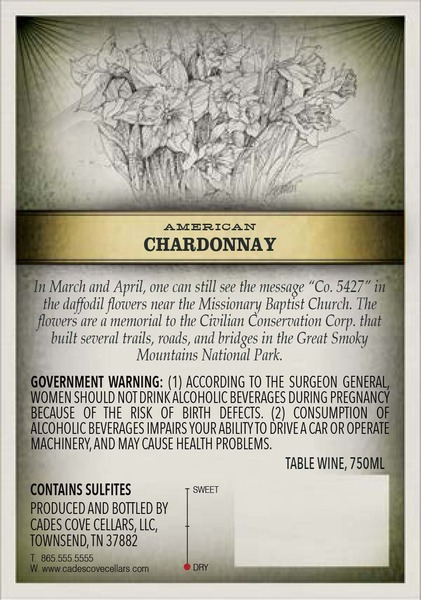 Product Image for 2015 Chardonnay