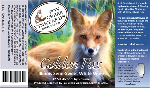 Product Image for GOLDEN FOX   Semi-Sweet