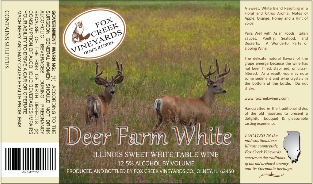 Product Image for DEER FARM WHITE   Sweet