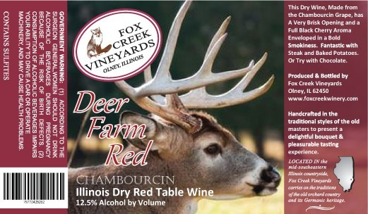 Product Image for DEER FARM RED  Dry