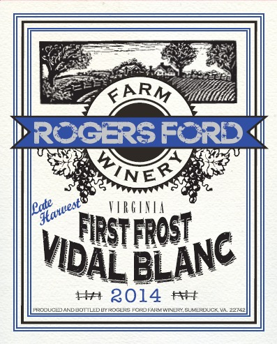 2019 First Frost Vidal Blanc