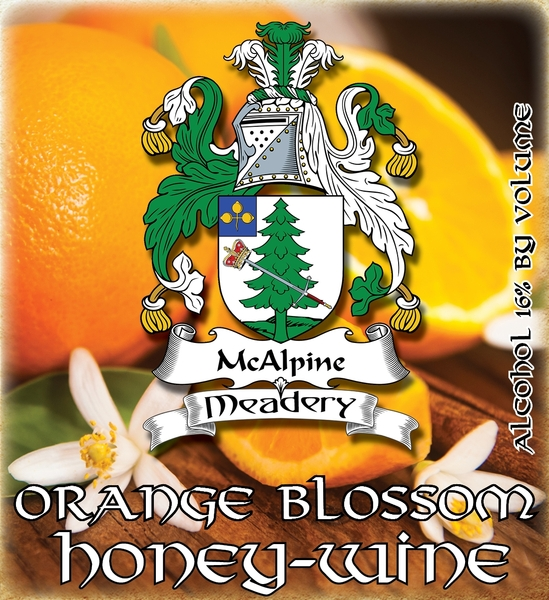 Product Image for 2018 Orange Blossom Honey-Wine