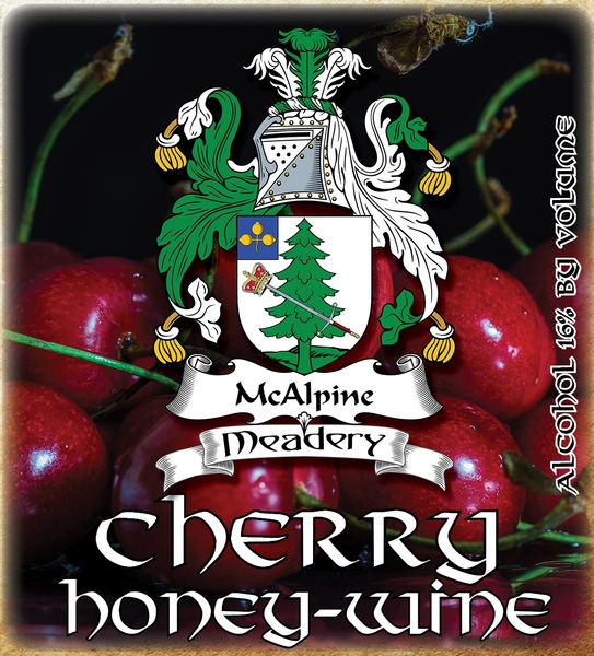 Product Image for 2017 Cherry Honey-Wine