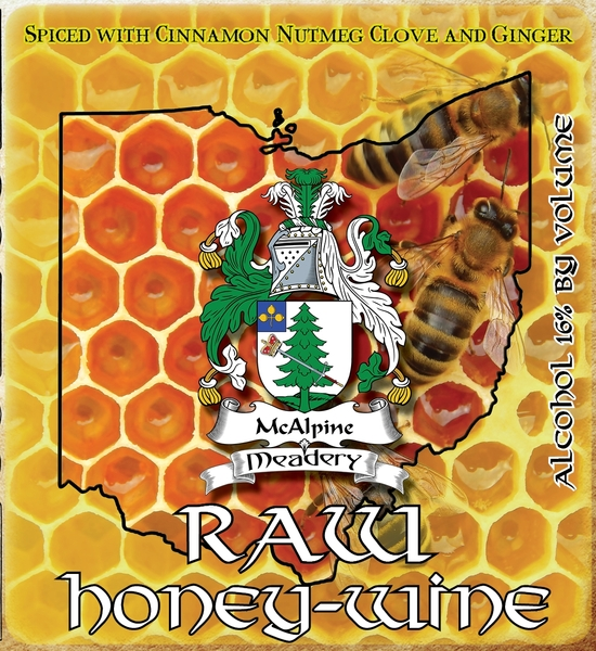 Product Image for 2019 Raw Honey-Wine