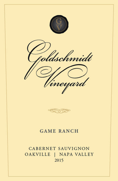 Product Image for 2015 GOLDSCHMIDT OAKVILLE GAME RANCH CABERNET SAUVIGNON