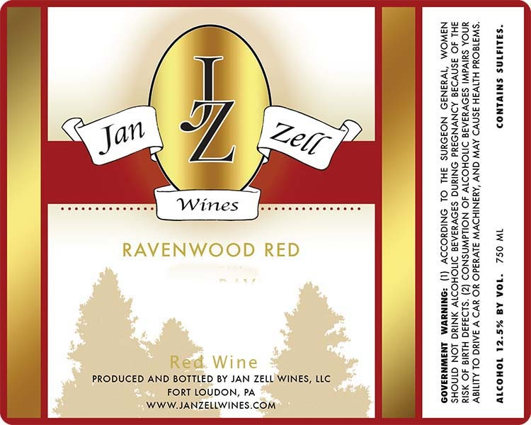 Product Image for 2016 Ravenwood Red