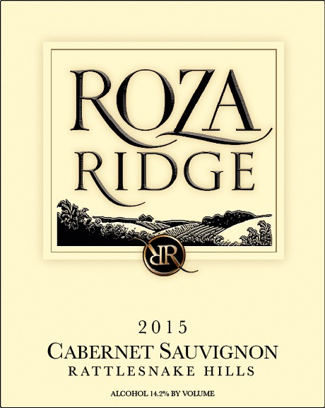 2015 Roza Ridge Estate Cabernet Sauvignon