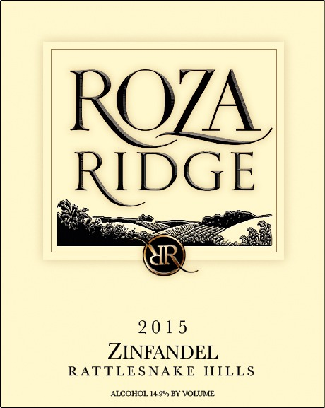 2015 Roza Ridge Estate Zinfandel