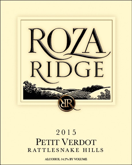 2015 Roza Ridge Estate Petit Verdot