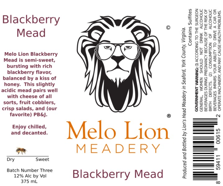 Product Image for 2018 Blackberry Mead