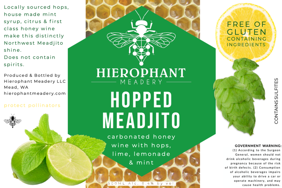 Product Image for Hopped Meadjito 500ML