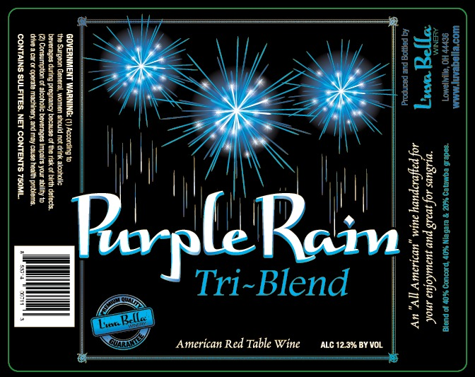 Product Image - Purple Rain-Tri Blend