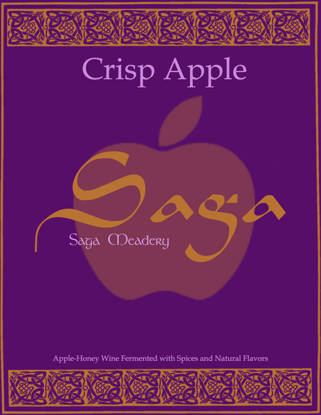 2018 Crisp Apple Saga Mead
