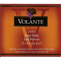 Product Image for 2003 Late Harvest Zinfandel - Napa Valley