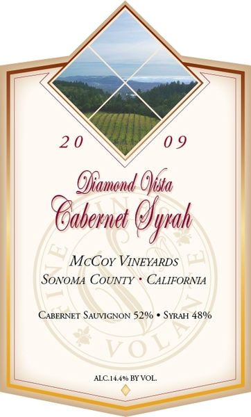 Product Image for 2009 Diamond Vista Cabernet Syrah