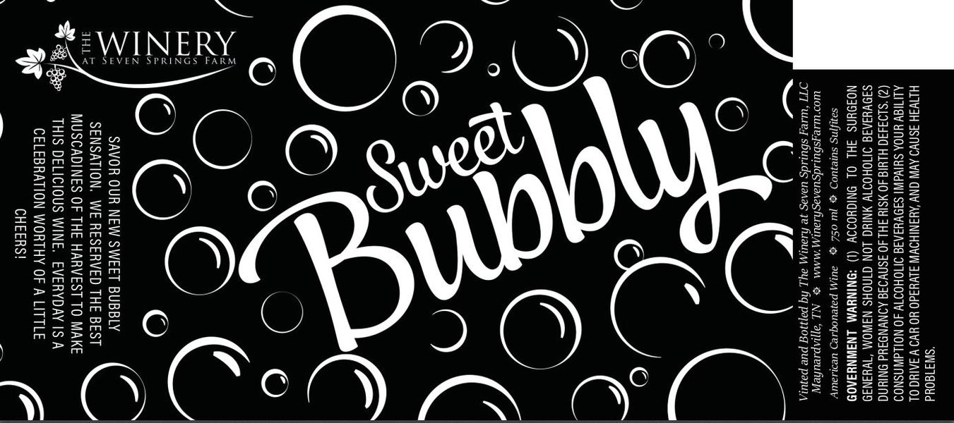 2018 Sweet Bubbly