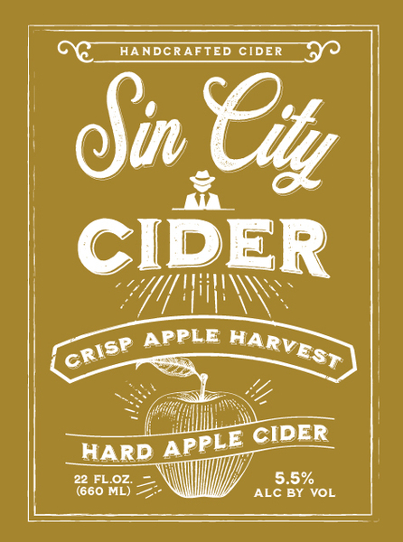 2019 Sin City Crisp Apple Harvest Cider