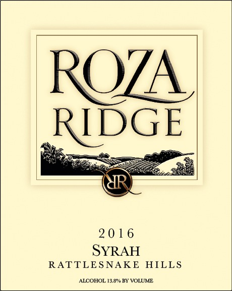2016 Roza Ridge Estate Syrah